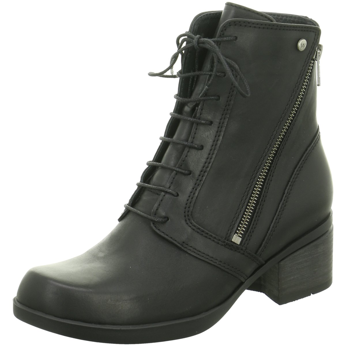 NEU Wolky Damen Stiefeletten Forth Softy Wax Black 0137730002 schwarz 326711