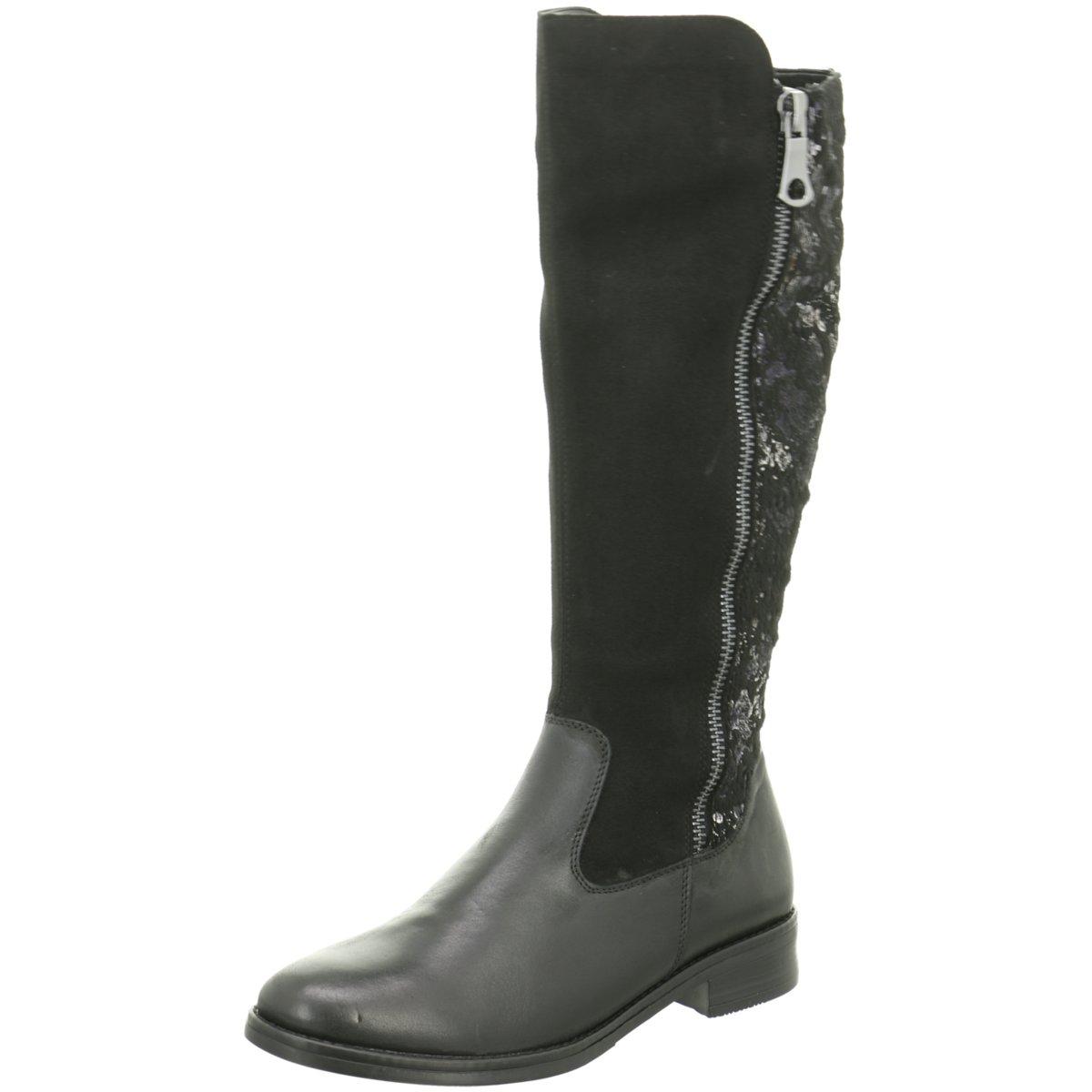 Remonte Damen D8577-01 Stiefel D8577-01 Damen schwarz 370729 ed0e85