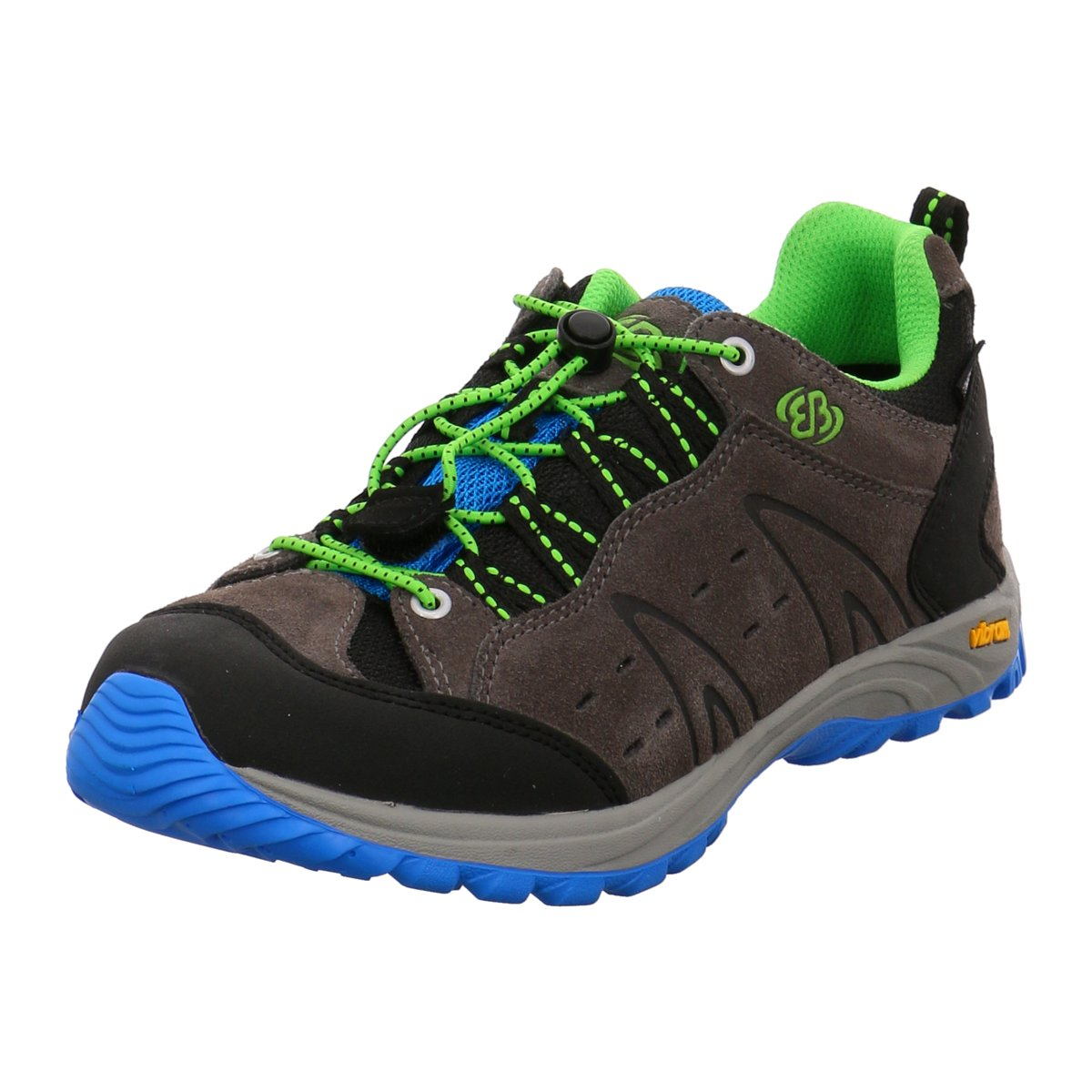 Brütting Kinder Bergschuhe MT.Bona Low K. 421041 grau 149845