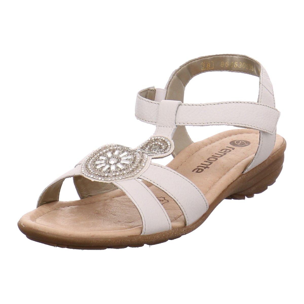 Remonte Damen Sandaletten R3641-81 weiß 292591  | Angemessene Lieferung und pünktliche Lieferung