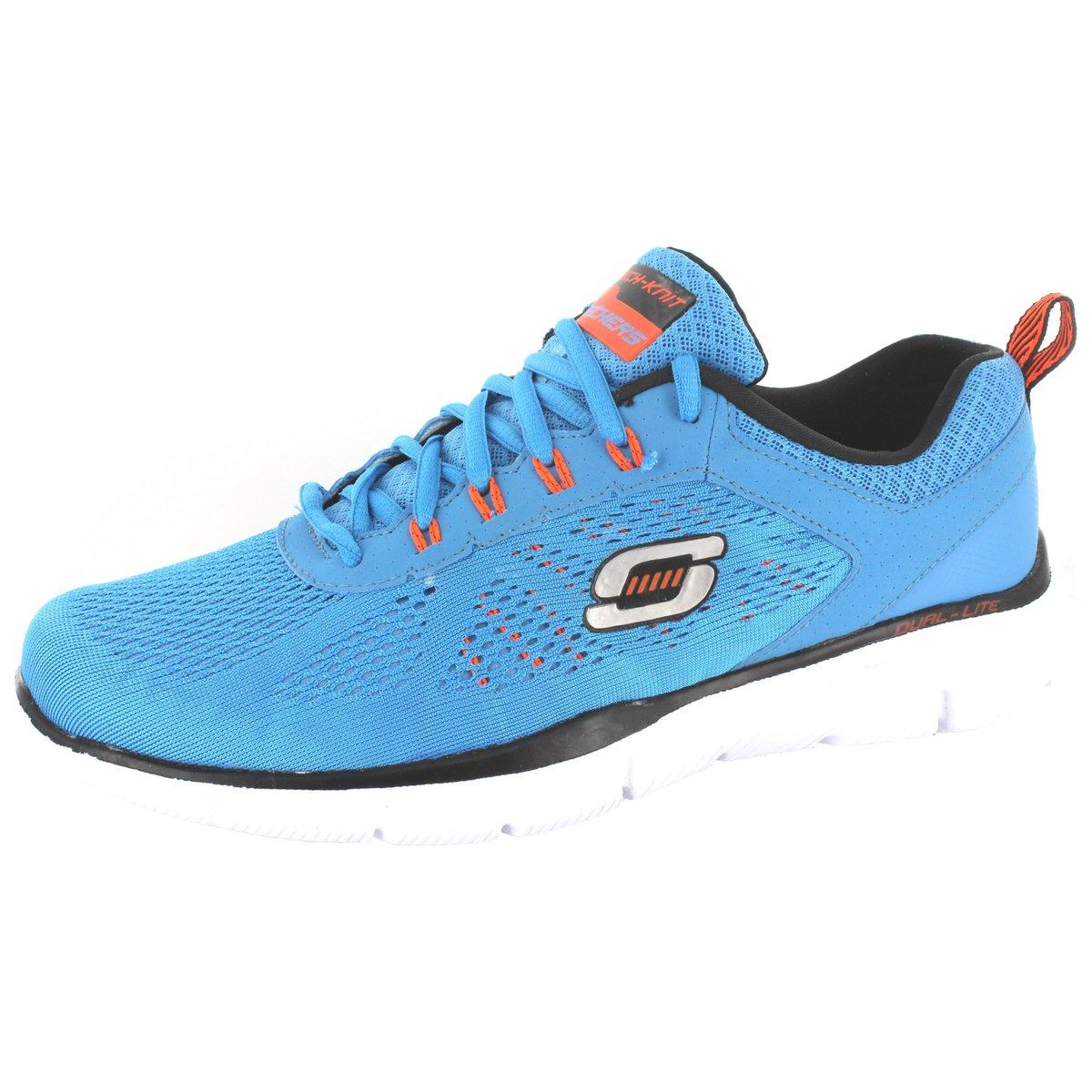 NEU Skechers Herren Sportschuhe 51358 TV Mandat HE 205049 FS15 51358-BLOR blau 205049 HE 6666ec