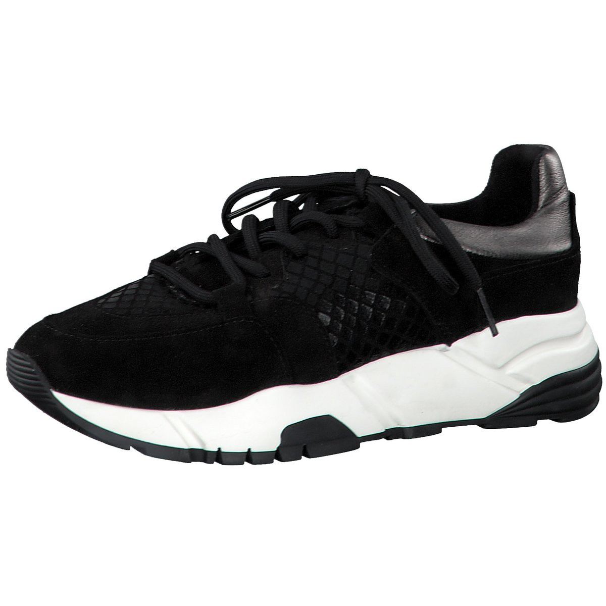 Details zu Tamaris Damen Sneaker 557 1 1 23761 33 098 schwarz 772687