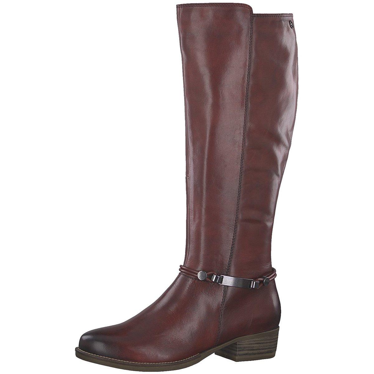 Details zu Tamaris Damen Stiefel Woms Boots 25509 21 536 rot 523985