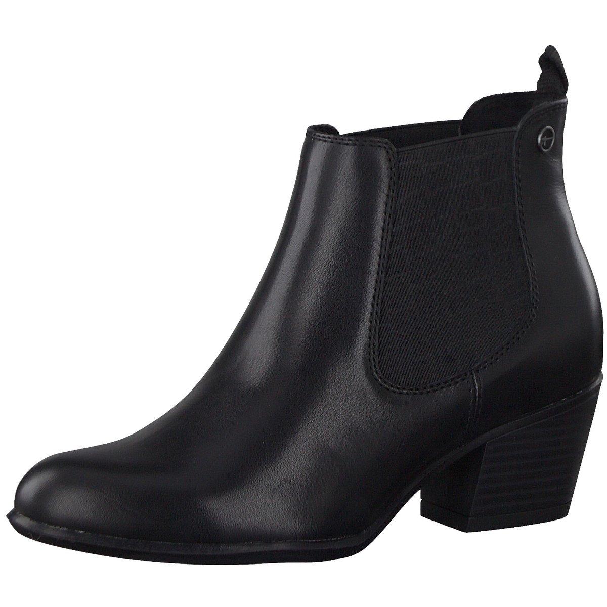 Details zu Tamaris Damen Stiefeletten Tamaris Stiefelette black 1 1 25701 23001 schwarz