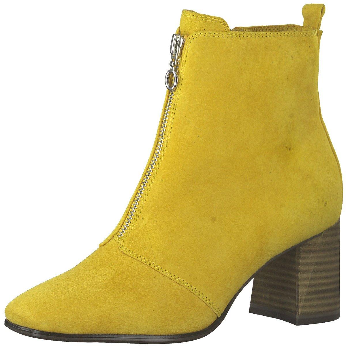 Details zu Tamaris Damen Stiefeletten Da. Stiefel 1 1 25967 33 651 gelb 750585