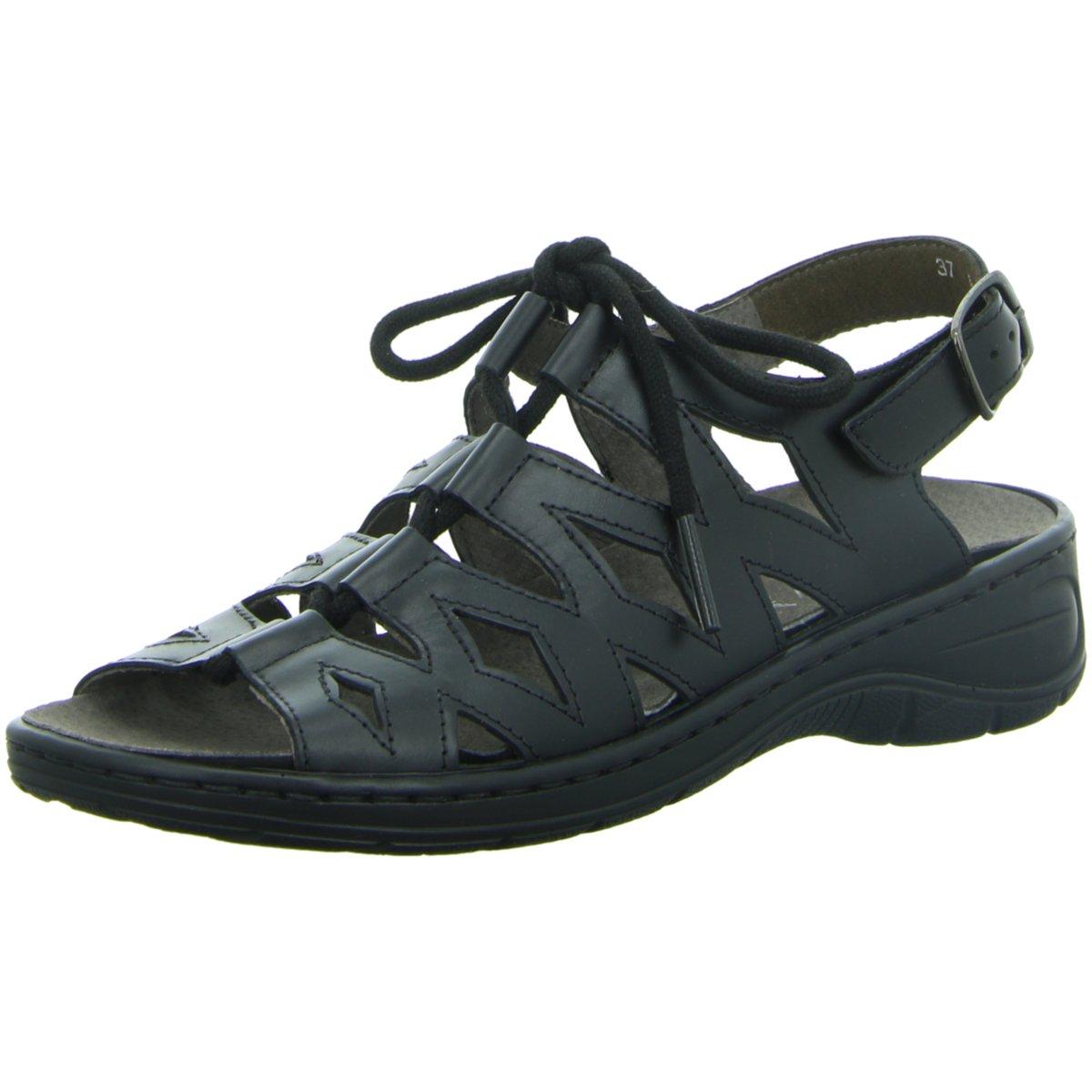 Jenny Damen Sandaletten Komfort Sandalette Korfu-Ang 22-56550-56 Gold 150322