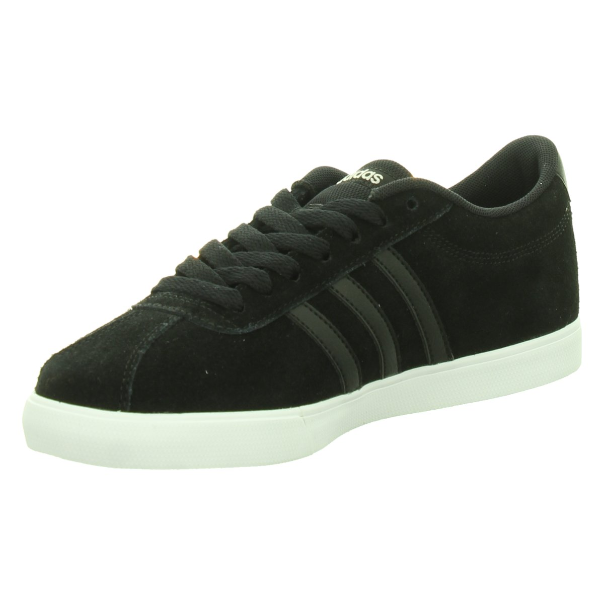 NEU adidas Damen Sneaker Sneaker Low Courtset W BB9657 schwarz 313234